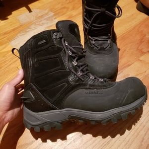 "MEN'S MERRELL NORSEHUND BETA 8"", size 10 Boots"